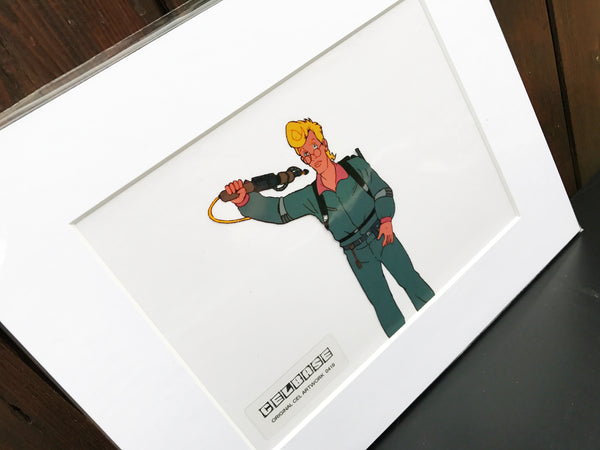 The 'Real' Ghostbusters Original Animation Cel - no.0419