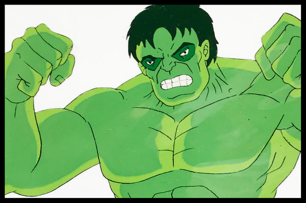 The Incredible Hulk Original Animation Cel - no.1146