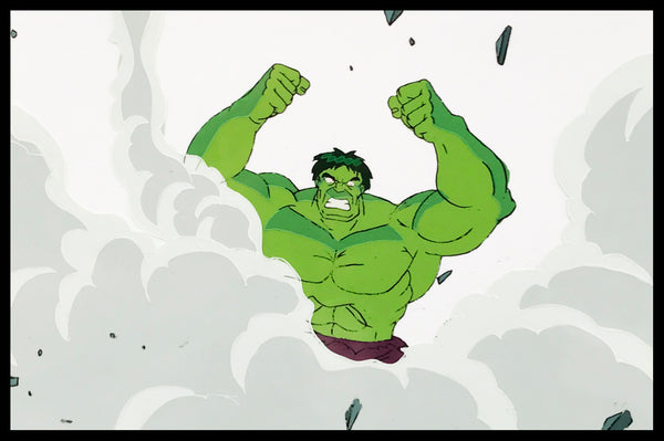 The Incredible Hulk Original Animation Cel - no.1133