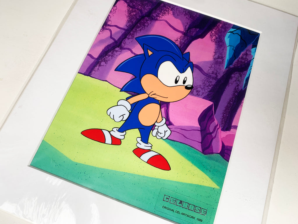 Sonic The Hedgehog Original Animation Cel - no.1569