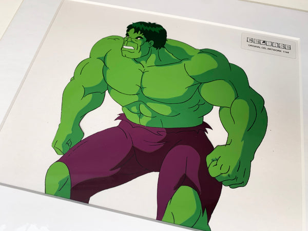 The Incredible Hulk Original Animation Cel - no.1144