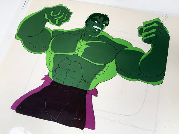 The Incredible Hulk Original Animation Cel - no.1700