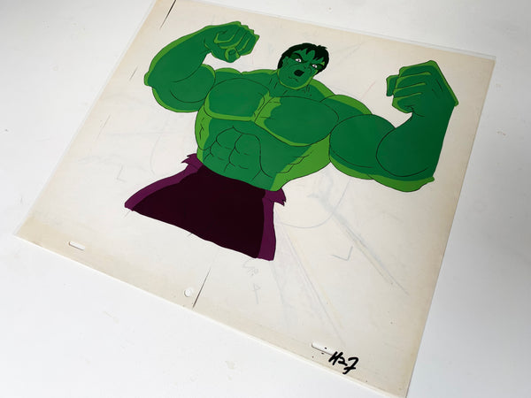 The Incredible Hulk Original Animation Cel - no.1699