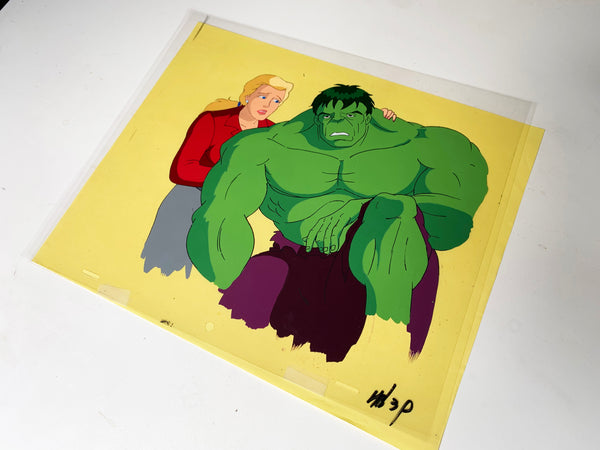 The Incredible Hulk Original Animation Cel - no.1693
