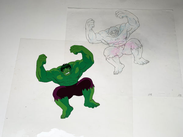 The Incredible Hulk Original Animation Cel - no.1692