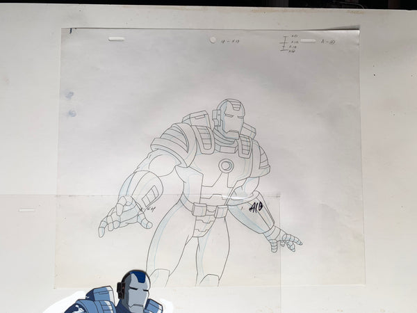 Iron-Man Original Animation Cel - no.1683