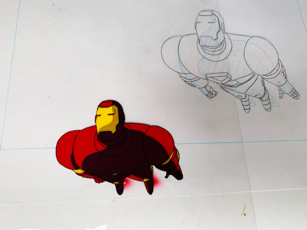 Iron-Man Original Animation Cel - no.1676