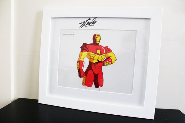 Signed Iron-Man Original Animation Cel - no.1099