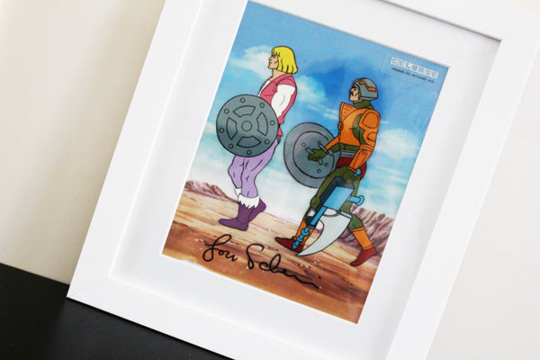 Signed He-Man and the Master of the Universe Original Animation Cel - no.1475