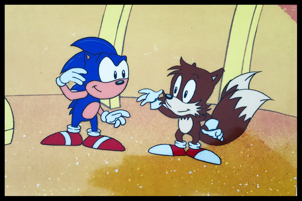 Sonic The Hedgehog Original Animation Cel - SOLD