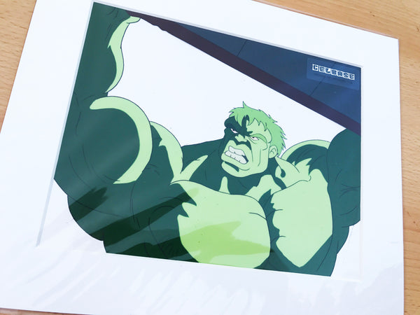 The Incredible Hulk Original Animation Cel - no.1145