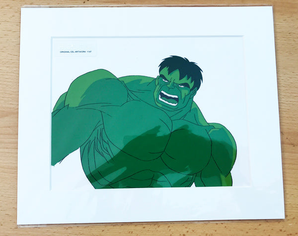 The Incredible Hulk Original Animation Cel - no.1147