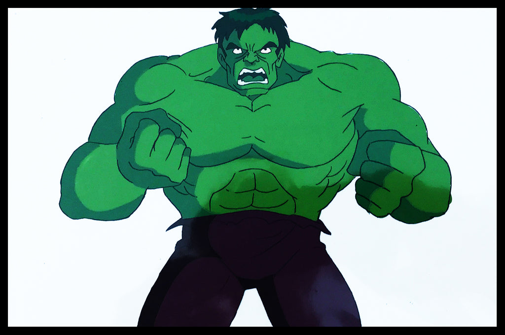 The Incredible Hulk Original Animation Cel - no.1106
