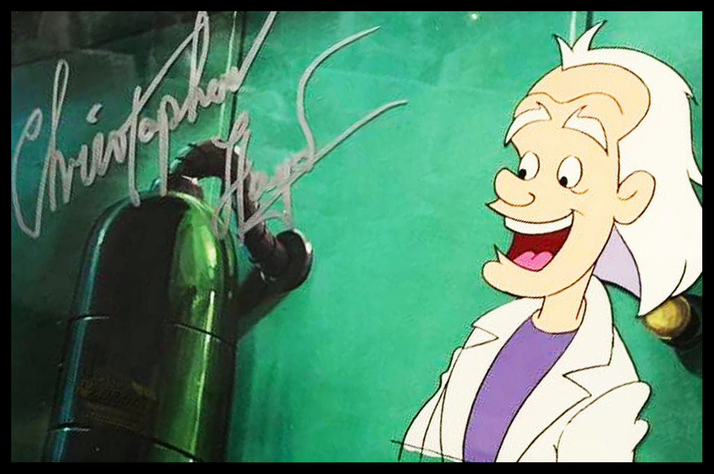 Signed Back to the Future Original Animation Cel - no.1702