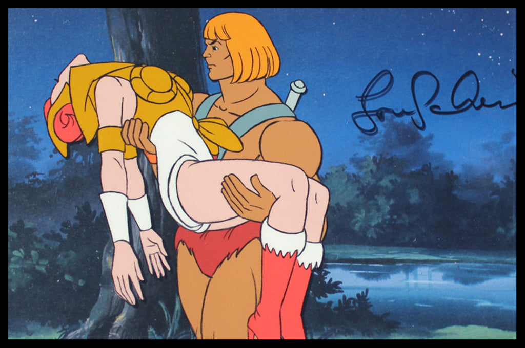 Signed He-Man and the Master of the Universe Original Animation Cel - no.0974