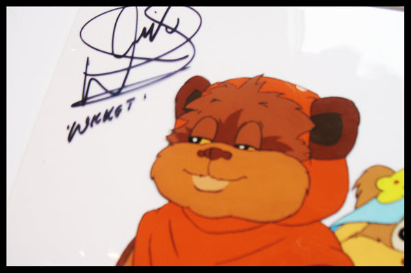 Signed Star Wars 'Ewoks' Original Animation Cel - no.1154