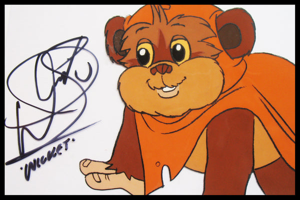 Signed Star Wars 'Ewoks' Original Animation Cel - no.0804