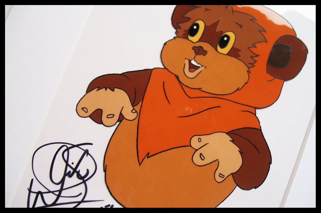 Signed Star Wars 'Ewoks' Original Animation Cel - no.0772
