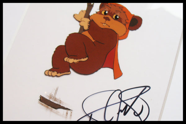 Signed Star Wars 'Ewoks' Original Animation Cel - no.0779