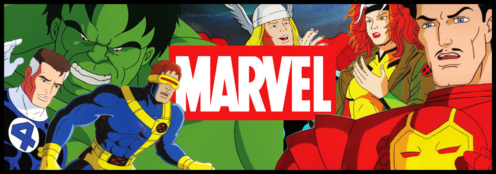 Marvel Animation Cels