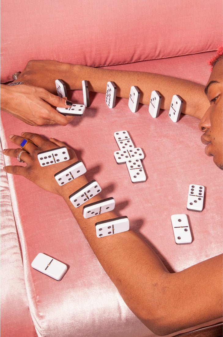 Domino Set with Spinners