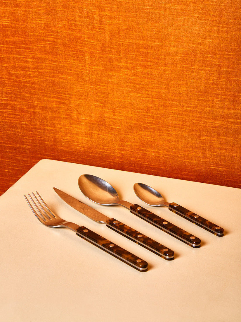 Flatware in Tortoise non Shiny