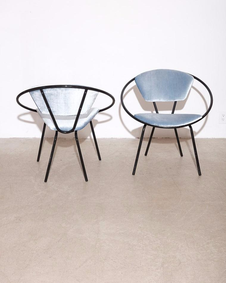 Circle Chairs by Joseph Ciccelli