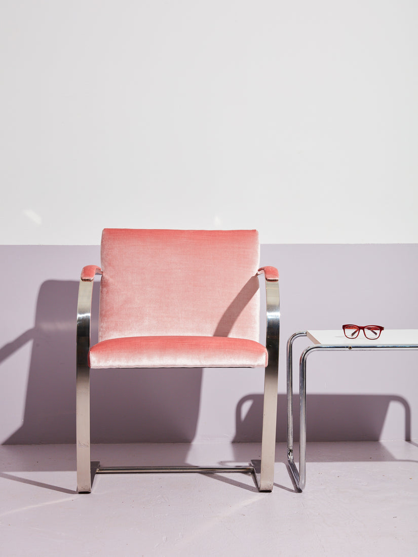 BRNO Flat Bar Chair in Pink