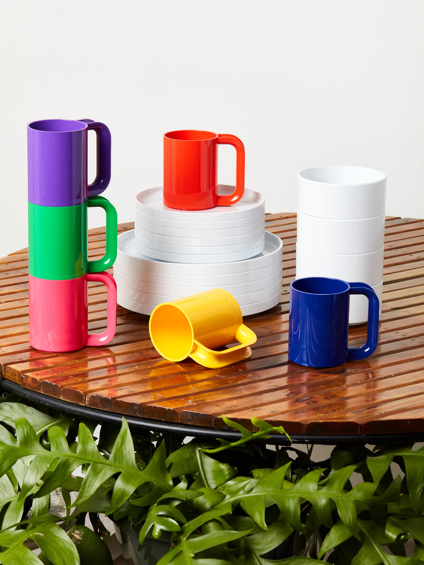 Set of 6 Rainbow Mugs