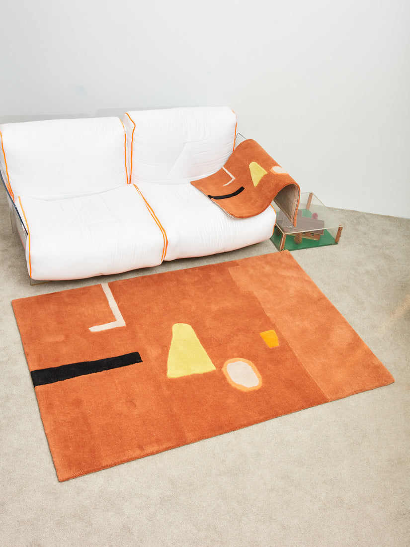 """Inner and Outer Space"" Rug"