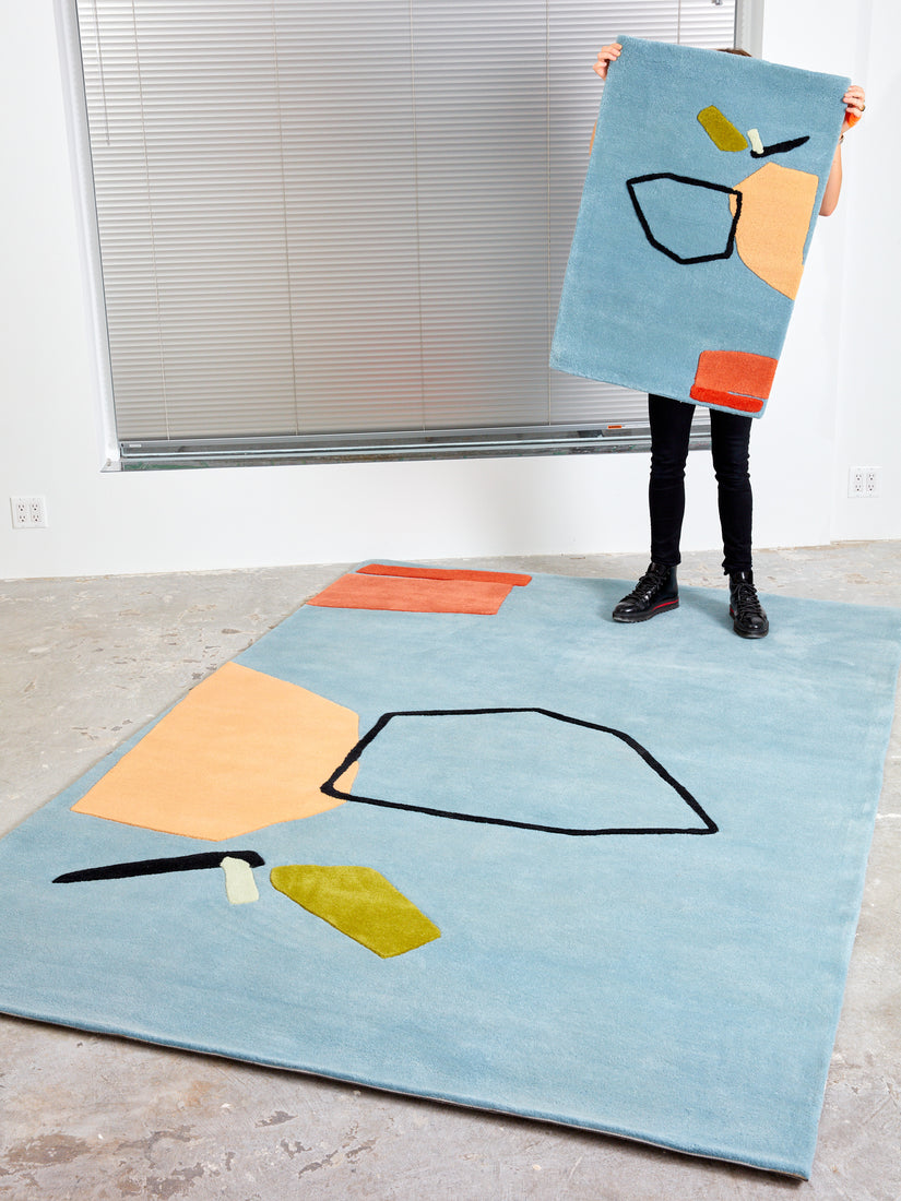 """The Limits of Communication"" Rug"