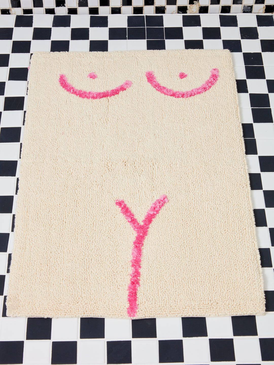 Private Parts Bath Mat In Pink Coming Soon