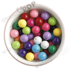 16mm Solid Color Beads