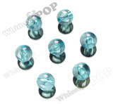 AQUA BLUE 20mm Transparent Gumball Beads - WhimsyandPOP