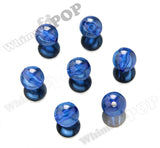BLUE 20mm Transparent Gumball Beads - WhimsyandPOP