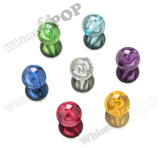 MIXED Color 20mm Transparent Gumball Beads