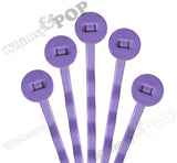 PURPLE 50mm Bobby Pin Blanks - 8mm Glue Pad - WhimsyandPOP