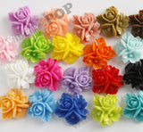 MIXED Color 16mm Fancy Textured Flower Bouquet Cabochons - WhimsyandPOP