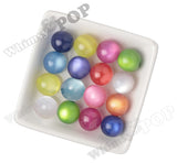 MIXED Color 20mm Cats Eye Gumball Beads - WhimsyandPOP