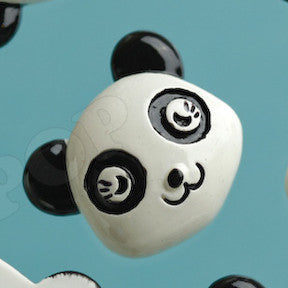 Black and White Panda Bear Cabochons - WhimsyandPOP