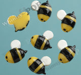 Busy Bumble Bee Cabochons - WhimsyandPOP