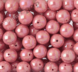 FLAMINGO PINK 20mm Glossy AB Gumball Beads - WhimsyandPOP