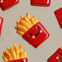 Fast Food French Fry Cabochons - WhimsyandPOP