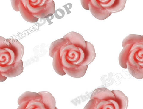 PINK 17mm Flower Beads - WhimsyandPOP