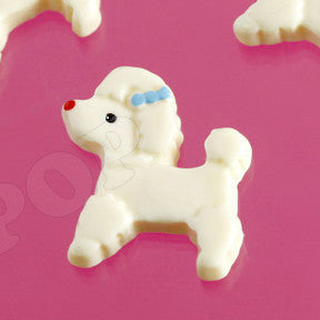 Classic French Poodle Cabochons - WhimsyandPOP