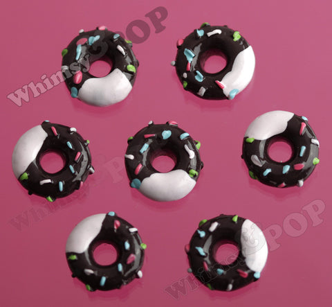 Chocolate Sprinkles Donut Cabochons - WhimsyandPOP