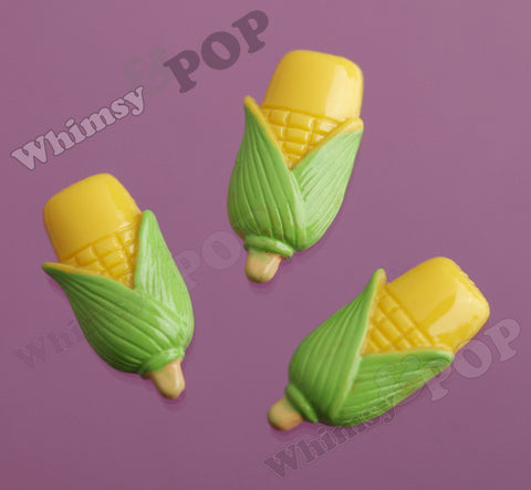 Corn On The Cob Cabochons - WhimsyandPOP