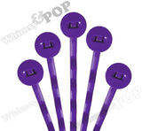 GRAPE PURPLE 50mm Bobby Pin Blanks - 8mm Glue Pad - WhimsyandPOP