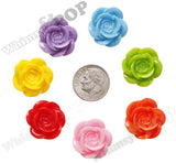 MIXED Color 18mm Flower Cabochons - WhimsyandPOP