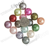 MIXED Color 20mm Metallic Pearl Gumball Beads - WhimsyandPOP
